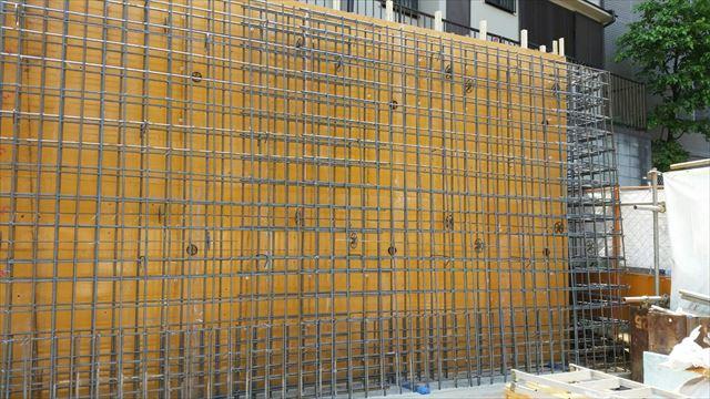 防護壁設置工事